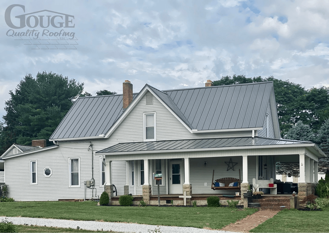 Roof installation by Gouge Quality Roofing